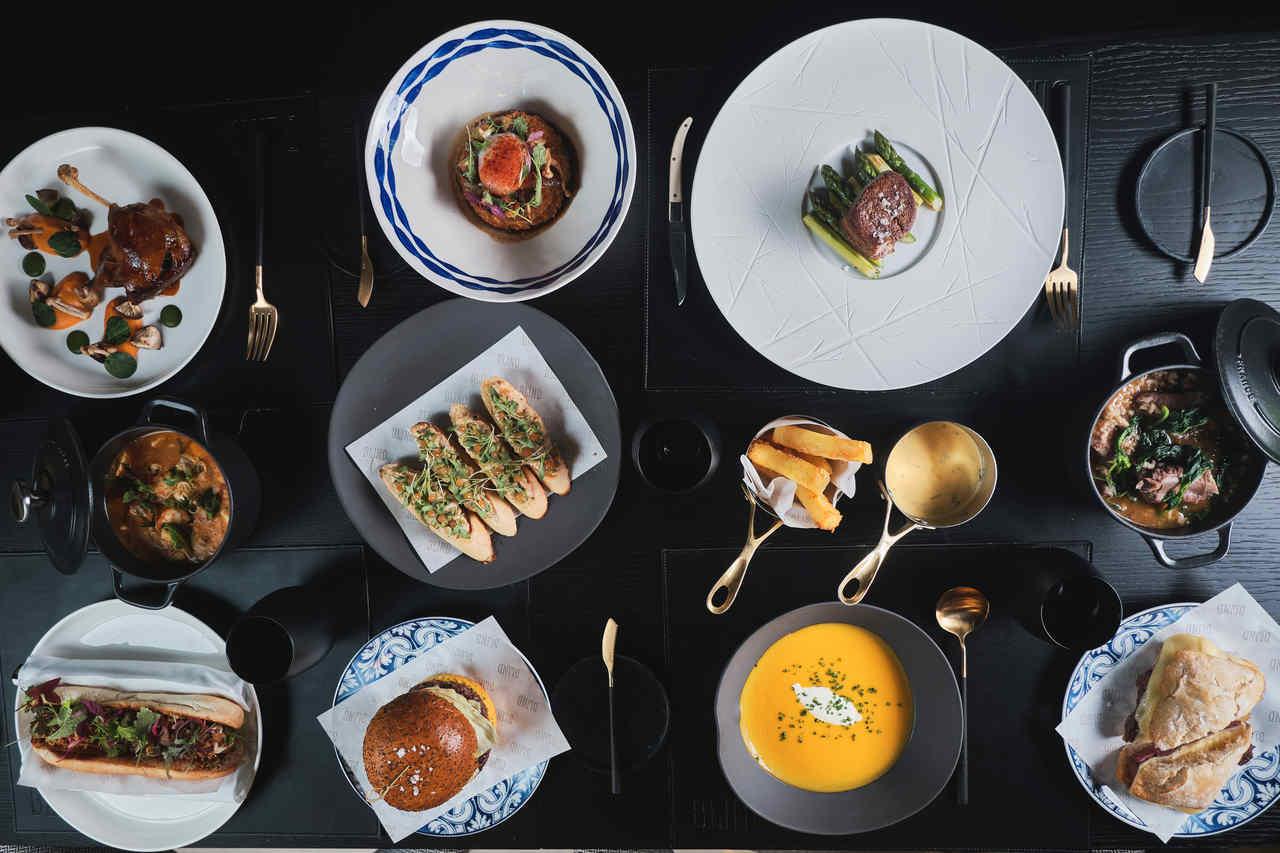 Gastrobar menu do restaurante Blind, Torel Palace Porto